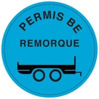 Formation BE remorque IDPR